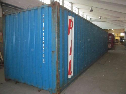 contenedores maritimos usados 20 y 40 azul