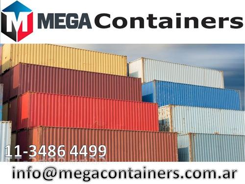 contenedores marítimos usados 20 y 40 secos bariloche