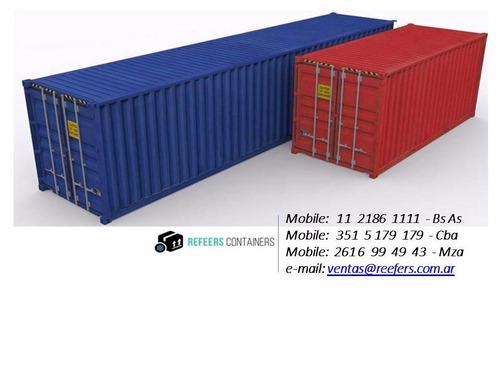 contenedores maritimos usados 20 y 40 venta secos