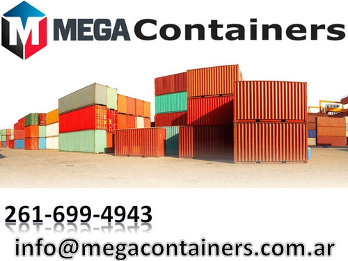contenedores maritimos usados 20 y 40 venta secos neuquen