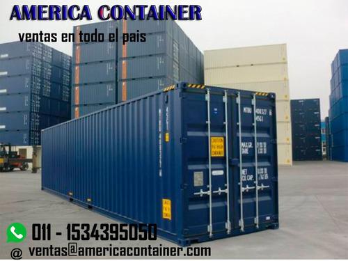 contenedores maritimos usados  20 y 40´st/hc corrientes.