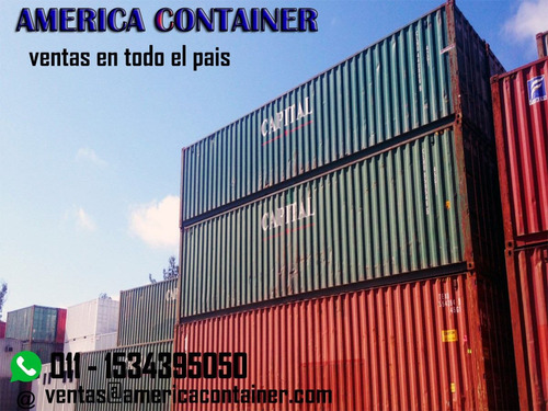 contenedores maritimos usados  20y40 cordoba nacionalizados
