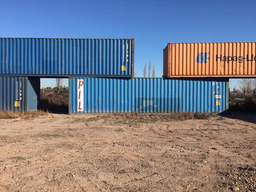 contenedores maritimos usados 40 pañol nacionalizado salta