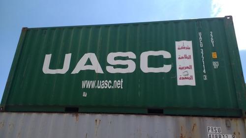 contenedores maritimos usados containers 20´ bragado bs as.
