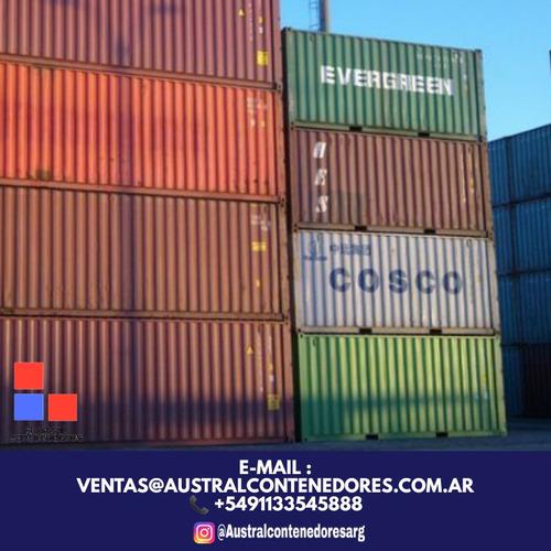 contenedores maritimos usados containers 20´ la pampa