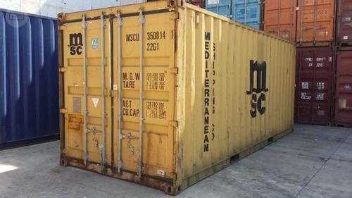 contenedores maritimos usados containers 20´ necochea bs as