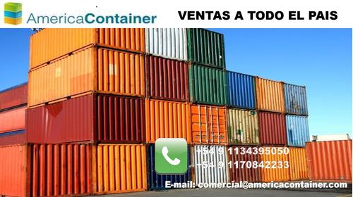 contenedores maritimos usados containers  20 pergamino.