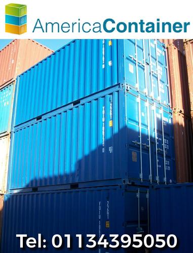 contenedores maritimos usados containers 20 rosario.