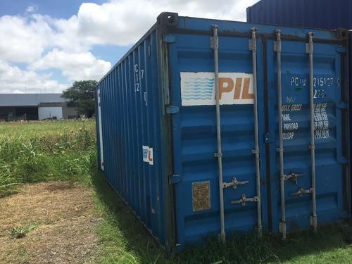 contenedores maritimos usados containers 20´ san lorenzo.