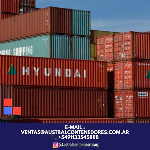 contenedores maritimos usados containers 20´ santa fe