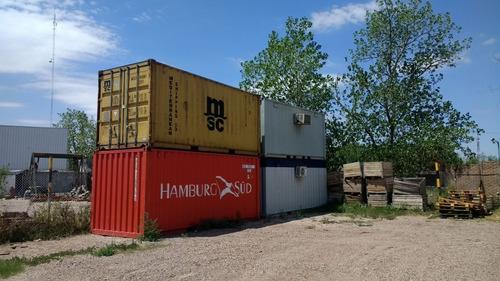 contenedores maritimos usados containers 20´santa fe caseros