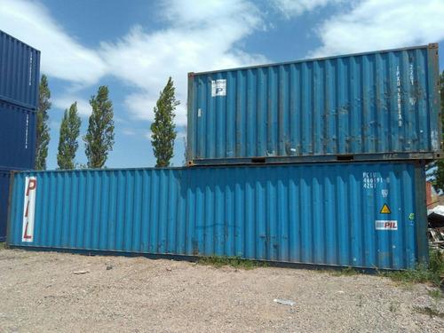 contenedores maritimos usados containers 40' avellaneda