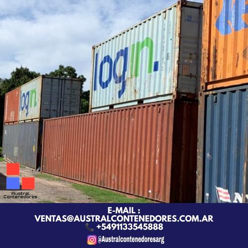 contenedores maritimos usados containers 40' villa allende