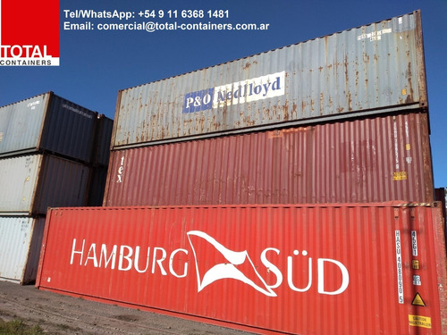 contenedores maritimos usados containers 40´hc baradero