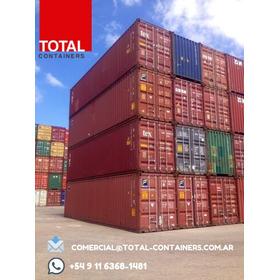 Contenedores Maritimos Usados Containers 40'st Lujan De Cuyo