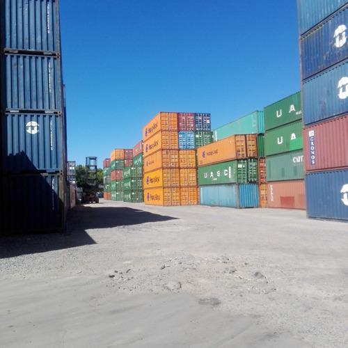 contenedores maritimos usados * containers 40´st san rafael