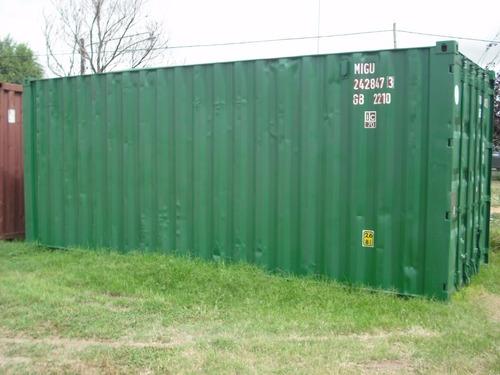 contenedores maritimos usados containers obrador 20 san luis