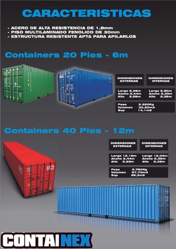 contenedores maritimos usados containers obradores