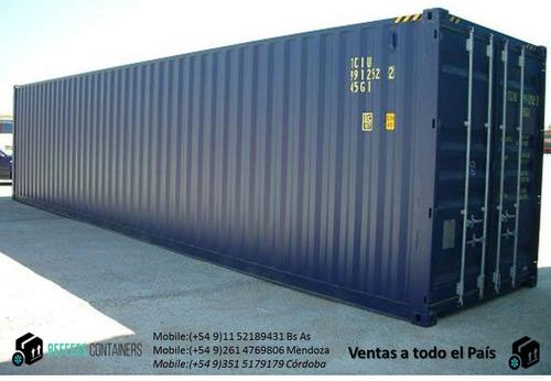 contenedores maritimos usados depositos 20 y 40 secos venta