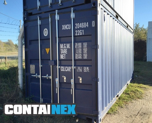contenedores nuevos - firts trip - containners maritimos