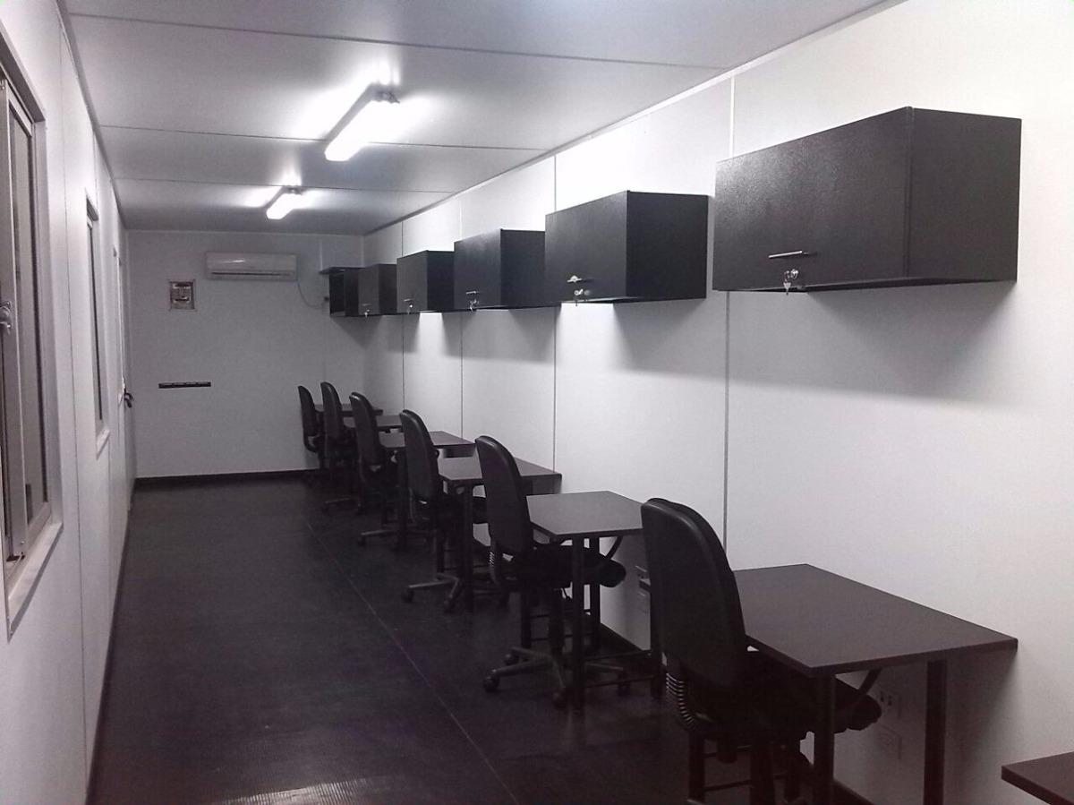 Contenedores oficinas moviles full acabados for Contenedores de oficina