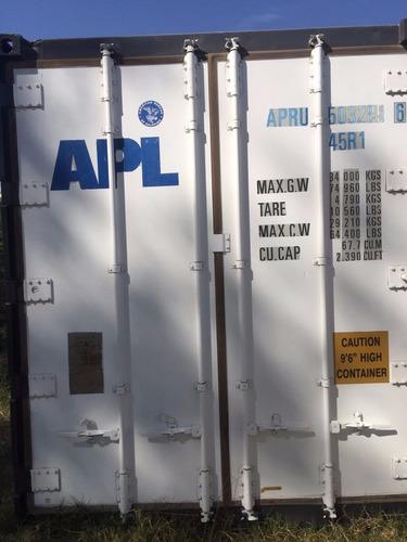 contenedores reefer congelado camara 40 nacionalizado carilo
