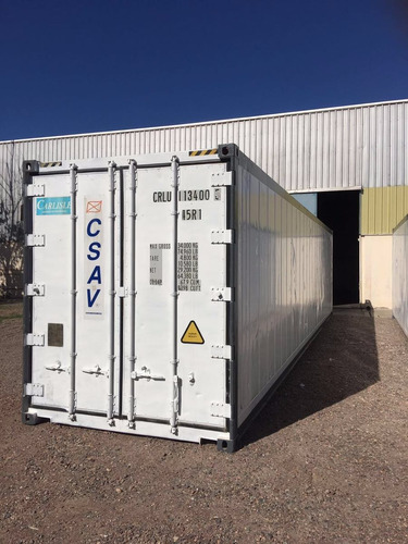 contenedores reefers congelado camara 40 santiago del estero