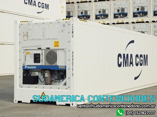 contenedores reefers refrigerados 40 pies chaco