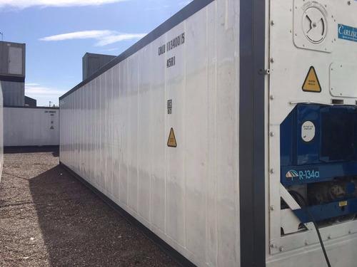 contenedores refrigerados camaras de frio reefers 40'.