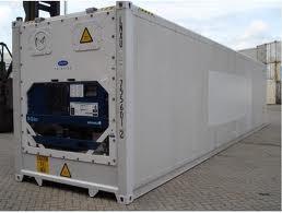 contenedores refrigerados con y sin motor aislados / termico
