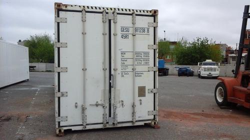 contenedores refrigerados. reefer. camar frigorificas movile