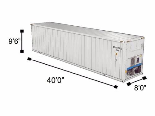 contenedores refrigerados reefer camara frigorifica m plata
