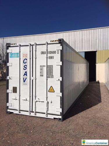 contenedores refrigerados reefers camaras de frio reefers 40