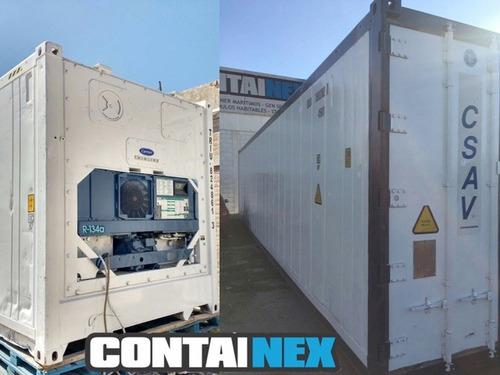 contenedores refrigerados reefers camaras frigorificas