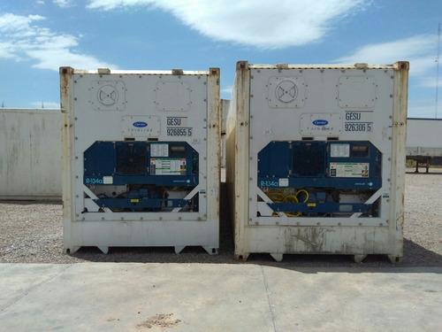 contenedores refrigerados/reefer/camara frio/carcaraña s.fe