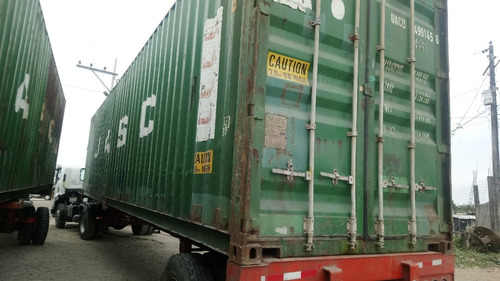 contenedores refrigerados/secos