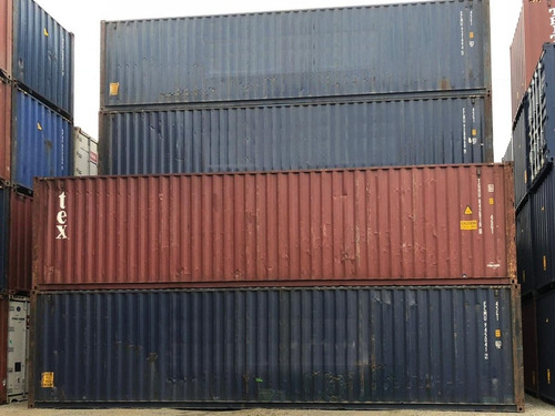 contenedores secos 40 pies