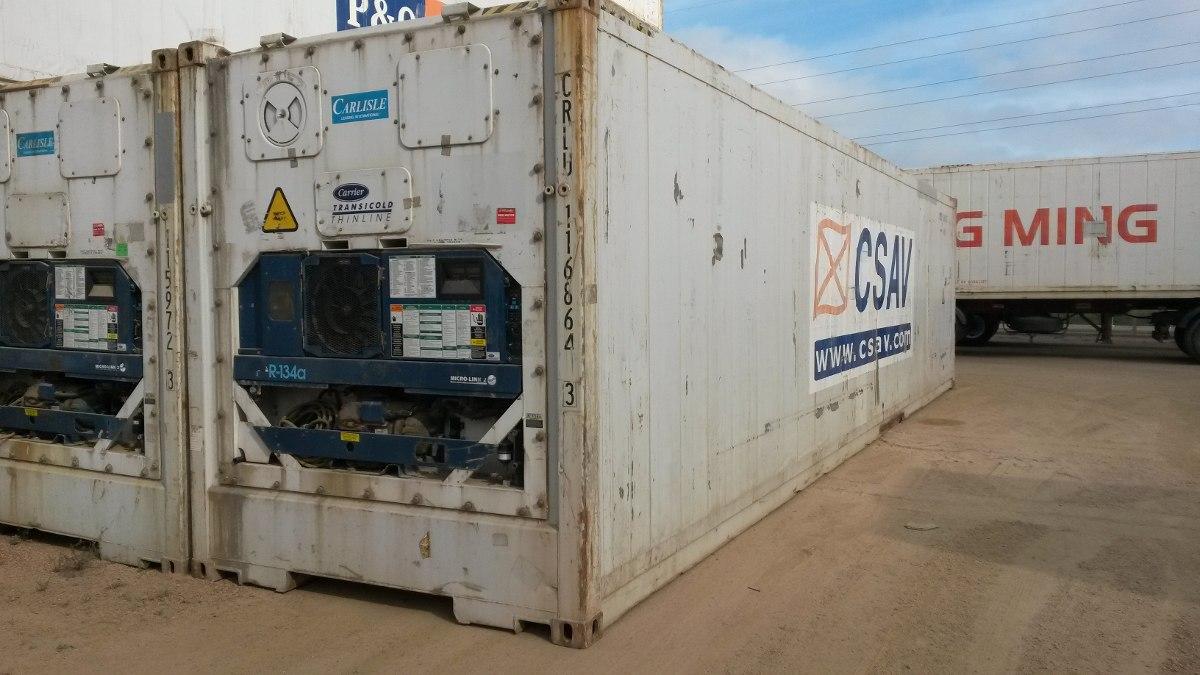 contenedores termicos / refrigerados impecables!!!!