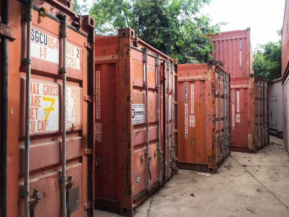 contenedores usados
