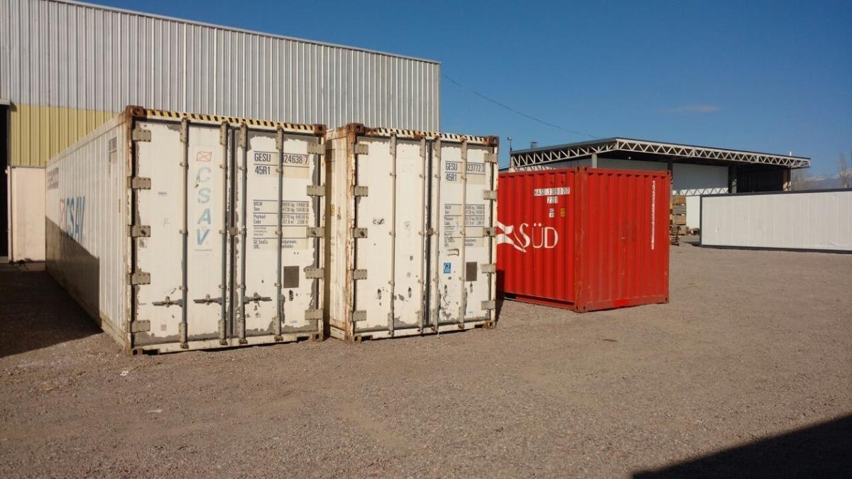 contenedores vacios tachos