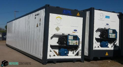 contenedor/frio/maritimos/camara/frigorifica/mar del plata