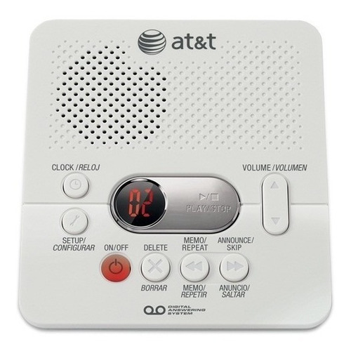 contestadora digital at&t 1740 (60 min) envio gratis