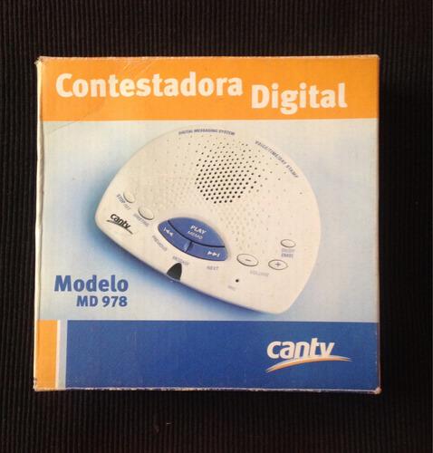 contestadora digital cantv modelo md 978