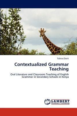 contextualized grammar teaching; owiti, tobias envío gratis