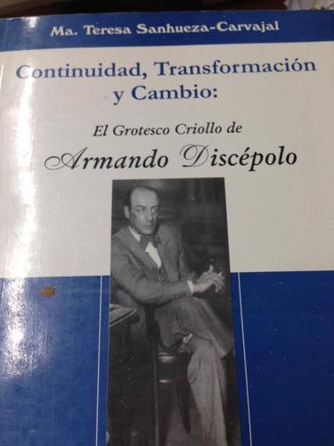 continuidad, transformacion y cambio. sanhueza-carvajal