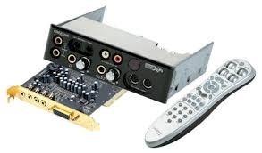 contol remoto creative para targeta de audio 7.1 x-fi