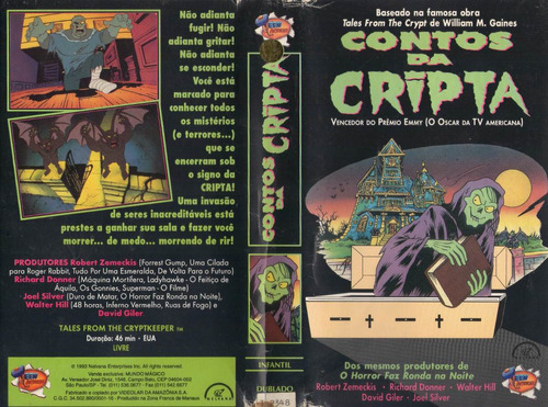 contos da cripta em desenho 1 e 2 - unitário