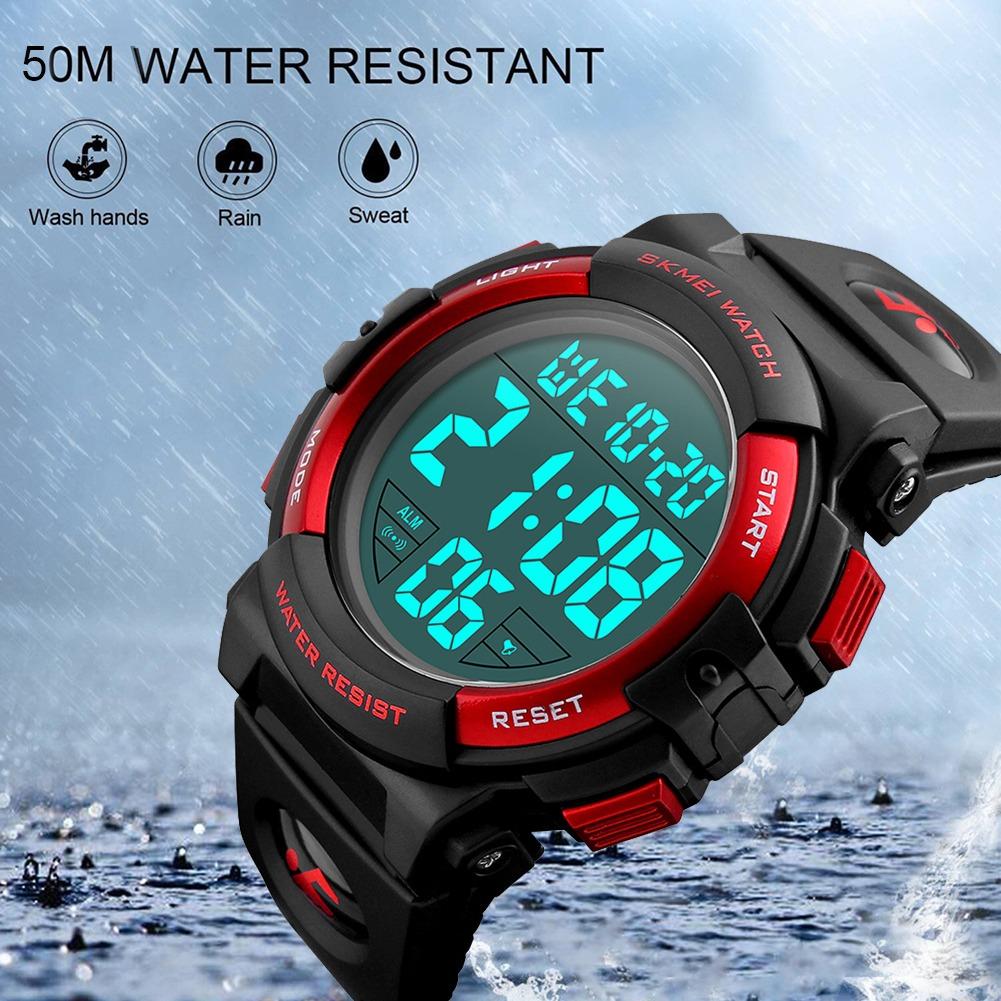 cb428dd9eca4 Contra Agua Sports Reloj Hombre Deportivo Digital Led -   336.85 en ...