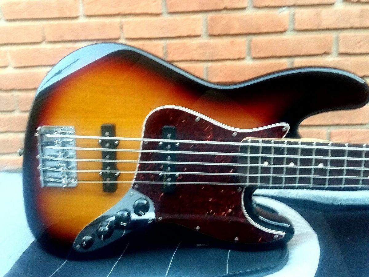 Circuito Ativo Fender Jazz Bass : Contra baixo fender deluxe jazz bass cordas r