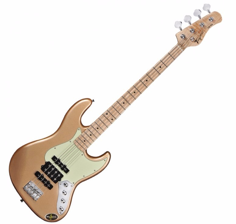 Circuito Para Baixo Jazz Bass : Contra baixo jazz bass passivo tagima jmj dourado r